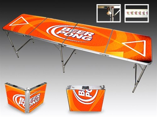 Budlight beer pong tables